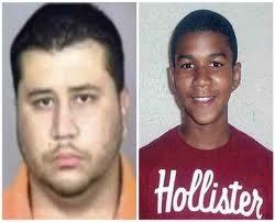 George Zimmerman & slain child Trayvon Martin